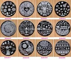 stamp nail art plates image collections nail art designs