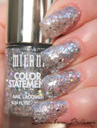 milani cosmetics color statement nail lacquer rainbow prisms www