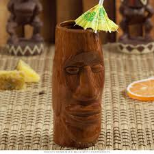 Tiki Home Decor Tiki Mugs And Hawaiian Luau Mugs Retroplanet Com