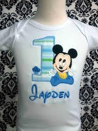 baby mickey 1st birthday home mickey mouse shirts birthday baby mickey number shirt