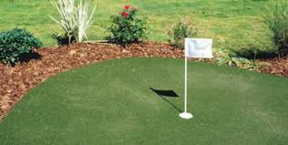Building A Backyard Putting Green Kits For Backyard Artificial Practice Putting Greens In Any Size