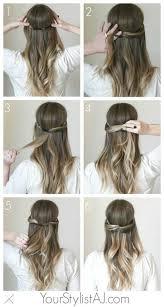 Hochsteckfrisurenen Selber Machen Halblange Haare by Frisuren Für Lange Haare Zum Selber Machen 2017 überall