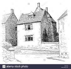 uk england northamptonshire ashley village old house with