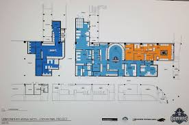 Key Arena Floor Plan Milwaukee Admirals U201cbreak Ground U201d For New Locker Room At Uwm