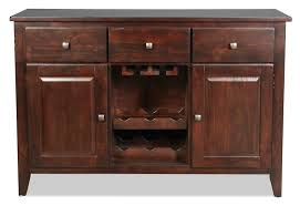 Dark Cherry Armoire Urban View Buffet Dark Cherry Levin Furniture
