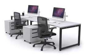 2 person workstation desk litewall evolve 2 person office workstation desk run 1200l x 800w