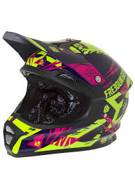 yellow motocross helmet freegun neon yellow magenta 2017 xp4 trooper mx helmet freegun