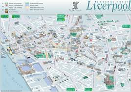 New York Sightseeing Map by Liverpool Sightseeing Map