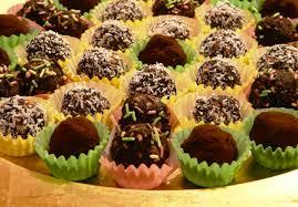 recettes cuisine noel recette de noël truffes en chocolat et biscuit pour cuisiner avec