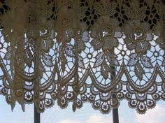 Hanging Lace Curtains Lace Curtains Fabric Lace Pinterest Window