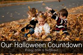 Printable Halloween Countdown Calendar Every Star Is Different September 2013