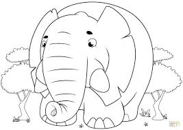 coloring pages african elephant coloring african elephant