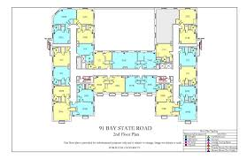 Bus Floor Plans by Kilachand Hall Floor Plans Housing Boston University