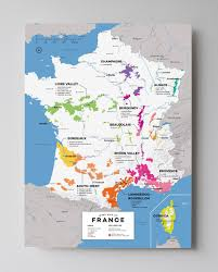 France Map Cities by Detailed French Wine Regions Map Wine Posters Wine Folly