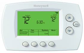wi fi 7 day programmable thermostat rth6580wf honeywell