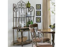 Corner Bakers Rack Standard Furniture Bombay Ornate Baker U0027s Rack Great American