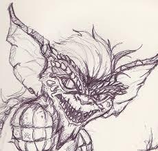 bad retro gremlins sketch