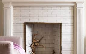 unique white fireplace tile stovers