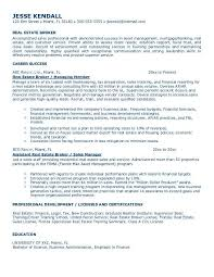 Mortgage Resume Download Real Estate Agent Resume Haadyaooverbayresort Com