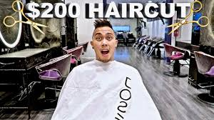 free haircut vs 200 haircut youtube