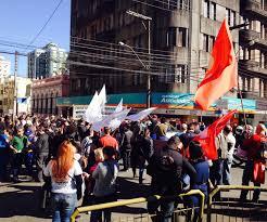 confira como foi a sexta feira 28 de protestos em santa maria