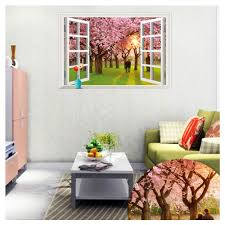 Pink Removable Wallpaper by Online Get Cheap 3d Pink Tree Murals Aliexpress Com Alibaba Group