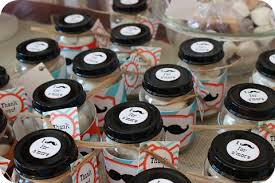 mustache party mustache themed birthday mustache party food jar and favors