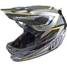troy lee motocross helmets troy lee designs d3 carbon mips helmet code blue s ebay