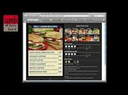 how to create your own custom menu board youtube