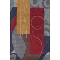 Mondrian Collection Rugs Modern Mondrian Bense Rug By Chandra Rugs Rosenberryrooms Com