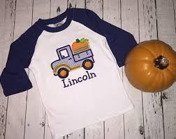 raglan pumpkin truck etsy