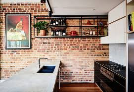 industrial kitchen and versatile family members space redefine the
