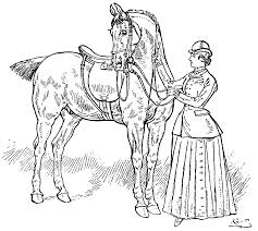 horsemanship for women coloring pages the equinest