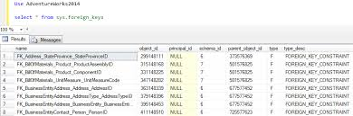 find all foreign keys referencing a table sql server how to find foreign key names created for sql server database table