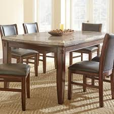 marble top dining room table steve silver eileen marble top dining table with tapered legs and