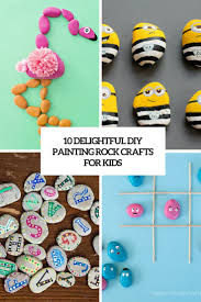 10 delightful diy painting rock crafts for kids u2013 home info