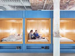 Sleep Number Bed Headquarters Of Course Casper Has Real Beds In Its New Office Curbed