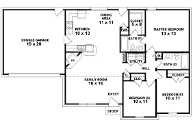 homes plans three bedroom plans for houses sq 3 bedroom house plans 5 bedroom