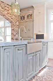 blue kitchen islands distressed blue kitchen island dove studio cool kitchens