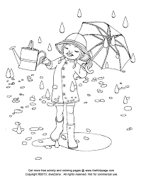 Rainy Day Free Coloring Pages For Kids Printable Colouring Sheets Rainy Day Coloring Pages