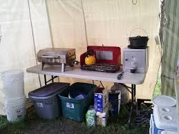 Setting Up A Camp Kitchen My Way American Preppers Network - Camping kitchen with sink