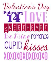 valentine u0027s day printable subway art