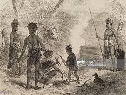 natives from shamru and mro people india lushai expedition