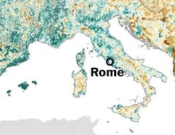 Why Do Western Maps Shrink by Map Where Europe Is Growing And Where It Is Shrinking The