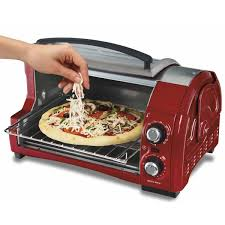 Toaster With Egg Maker Hamilton Beach Easy Reach 4 Slice Toaster Oven 31337