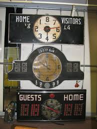 80 u0027s nevco basketball scoreboard to count down the time left in