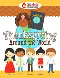 thanksgiving around the world interactive packet summarizing