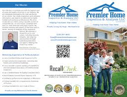 Home Inspection Templates by Premier Home Inspection U0026 Analysis Llc Internachi Marketing