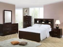 jessica cappuccino platform 6 pc queen bedroom 200719q seaboard