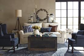pottery barn tripod l furniture inspiring living room decoration ideas using wooden